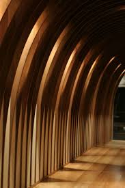 wood fins with nice lighting partition inspiration pinterest