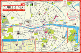 Chicago Tourist Map Printable by Tourist Map Dublin Map Of Dublin Tourist Attractions Ireland
