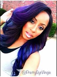 weave hair dos for black teens top 13 cute purple hairstyles for black girls this season chic
