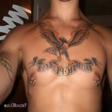 awesome good ideas for chest tattoos