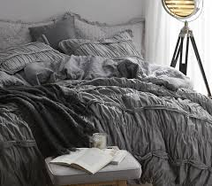 Duvet Covers Gray Torrent Handcrafted Series Twin Xl Duvet Cover Gray