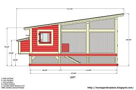 chicken coop building blueprints with chicken house plans free