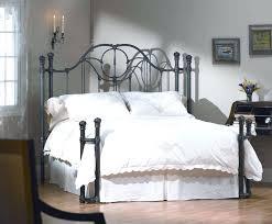 furniture outstanding wrought iron twin headboard white elegant