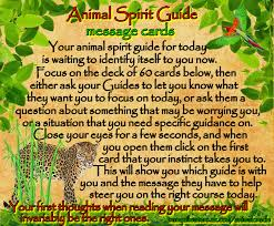animal spirit guides free animal oracle message cards power