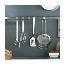 crochet ustensile cuisine barre pour ustensile avec crochet barre de cr dence cuisine barre de