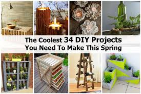Diy Spring Projects by The Coolest 34 Diy Projects You Need To Make This Spring