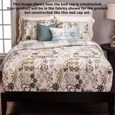Scroll Bedding Sabine Fitted Bunk Bed Cap Comforter Set - Fitted bunk bed sheets