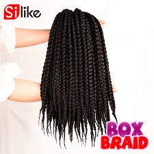 pre braided crochet hair crochet box braids burgundy creatys for
