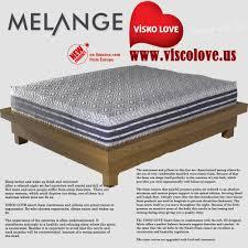 love mattress melange visco love mattress visco love us llc memory foam