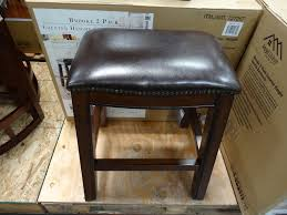 Outdoor Bar Stools Costco Brooke Counter Height Saddle Barstools
