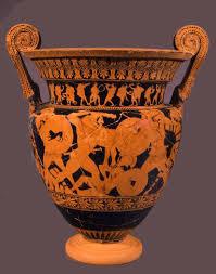 Euphronios Vase Cratere Di Euphronios Giacobbe Giusti