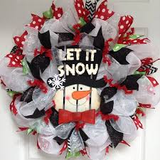 deco mesh ideas snowman wreath ideas how to make a gorgeous christmas wreath
