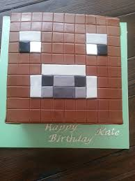 minecraft cow cake this was a lot of fun to make considering i had