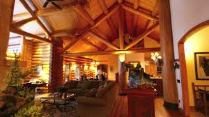log cabin luxury homes rent luxury log home on lake michigan charlevoix michigan youtube
