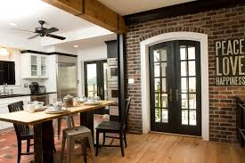 designs of kitchens in interior designing interior design exposed brick kitchen home design and interior