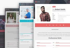 Making Online Resume by 15 Best Html Resume Templates For Awesome Personal Sites
