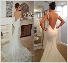 low back wedding dresses low back lace wedding dress 2015 galia lahav backless