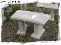 popular outdoor concrete bench and of concrete benches in a