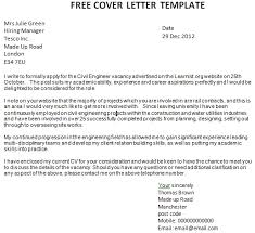 free cover letter template jvwithmenow com