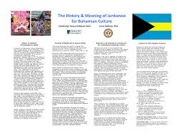the meaning and history of junkanoo for pdf available