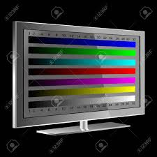 test pattern media tv color test pattern test card royalty free cliparts vectors