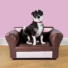 Dog Bed Furniture Sofa by Small Dog Bed Sofa Furniture Couch Leather Pet Cat Chaise Lounge