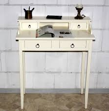 Massivholzm El Schreibtisch Sekretär Weiß Holz Konsole Sekret R Wei Holz Schmal Wei Sekret
