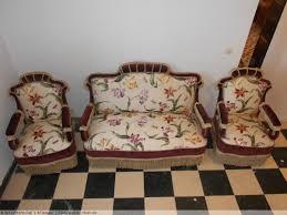 canapé napoléon 3 ensemble canapé et paire de fauteuils époque napoléon iii xixe