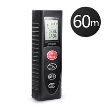 amazon co uk laser measuring devices accessories diy tools laser distance meter 60m 197ft eventek portable laser measure tool with backlight distance measure