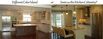 kitchen island different color than cabinets kitchen islands different or same color as the kitchen cabinetry