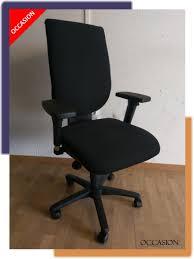 bureau ergonomique siège de bureau gdb tissu noir
