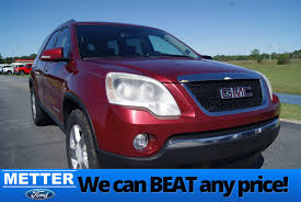 used 2007 gmc acadia for sale metter ga stk t5353c