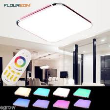Square Ceiling Light Fixture by 30w Rgb Led Square Ceiling Light Fixture Pendant Lamp Flush Mount