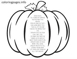 pumpkin prayer coloring pages pdf free printable pumpkin