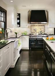 Hardwood Floor Kitchen 30 Spectacular White Kitchens With Dark Wood Floors Page 5 Of 30