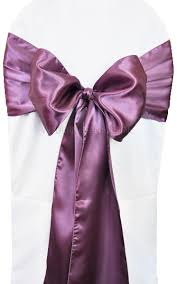 wholesale chair sashes wisteria satin chair sashes bows ties wholesale