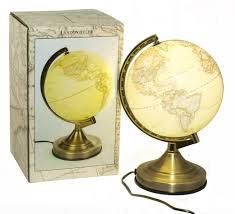 Globe Table Lamp Illuminated Globe Table Lamp Best Inspiration For Table Lamp