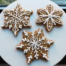 snowflake cookies bakeshop philadelphia gingerbread snowflake cookie gift box