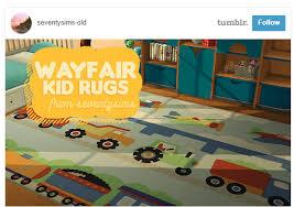 Kid Rugs Wayfair Kid Rugs Aywren S Sims