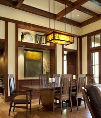 Mission Dining Room Chairs Dining Room With Wooden Table And Chairs Also Hanging Mission