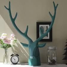 Moose Head Decor Creative Deer Moose Elk Head Large Nordic American Model Room