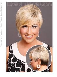 hair cuts for over 50 with fat round faces with round forheads with thin hair short haircuts for fat faces hairstyle pinterest fat face