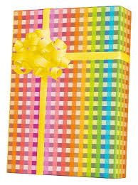 gingham wrapping paper rainbow gingham gift wrap innisbrook wrapping paper