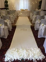 ivory aisle runner aisle runner pew ends and low twinkle twist events