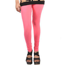 light pink leggings womens caitlin cotton lycra light pink churidar leggings buy caitlin