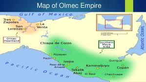 mayan empire map the civilization