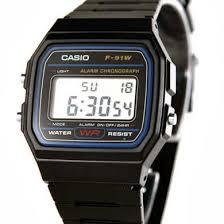 Jam Tangan Casio Karet jual jam tangan casio standard f 91w jam casio jam tangan