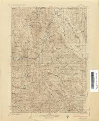 Map Of Spokane Idaho Historical Topographic Maps Perry Castañeda Map Collection