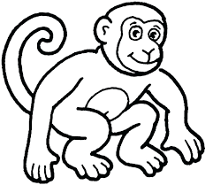 printable coloring pages monkeys ear coloring page ear coloring page ear coloring page monkey