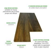 Laminate Floor Rating Harbour Oak 12mm Commercial Grade Laminate Flooring 50 Off Rrp